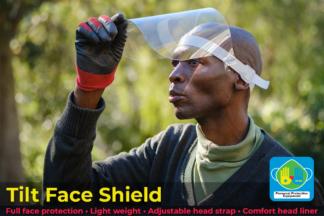 PPE - Tilt Face Shield
