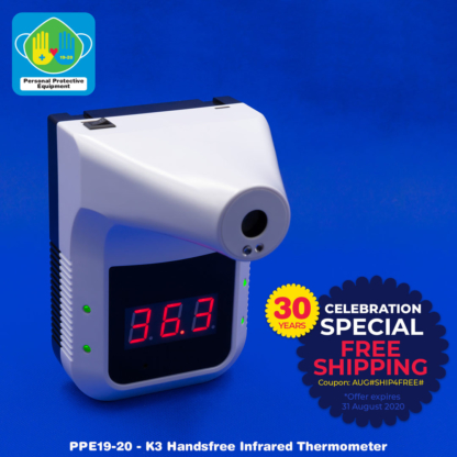K3 Handsfree Infrared Thermometer