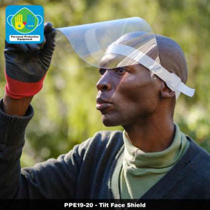Tilt Face Shield